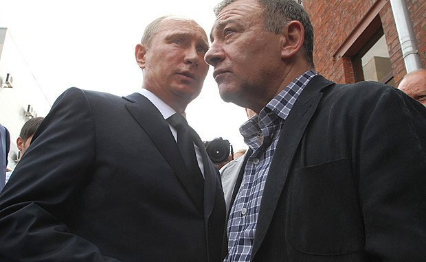 Vladimir Putin and Arkadiy Rotenberg