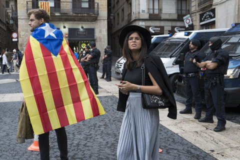Ukraine deems Catalonia referendum illegal