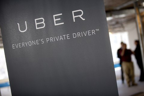 Uber storms in Ukraine