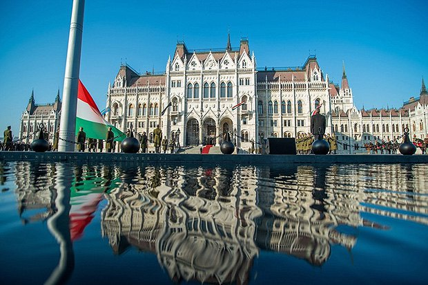 The Hungarian parliament, Budapest