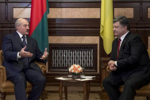 Ukrainian, Belarusian presidents discuss ties