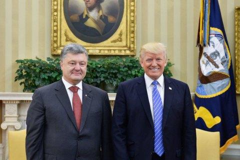 White House says Trump to meet Poroshenko on 21 Sep