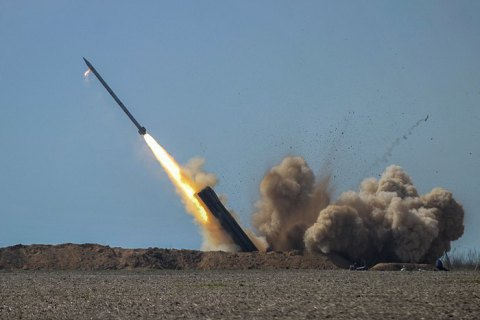 Ukraine tests Vilkha missile system