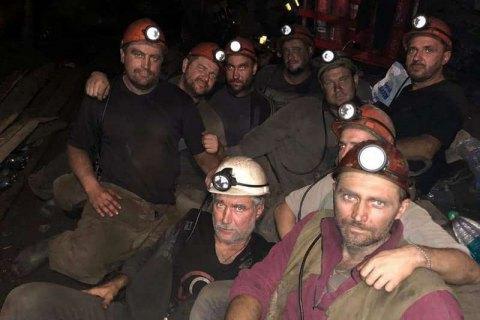 Sixteen miners on strike underground over wage arrears