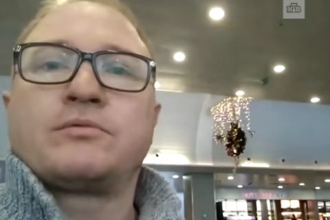 Russian TV crew barred from Ukraine