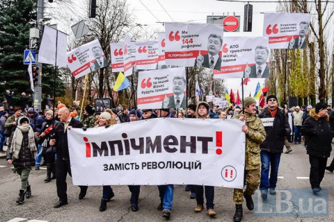 "Around 2,500 join Saakashvili's ""March for Impeachment"" - police"