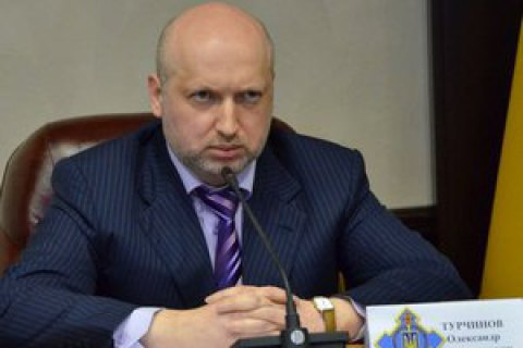 Turchynov supports Poroshenko for president