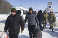 Two border guards held in Russia return to Ukraine