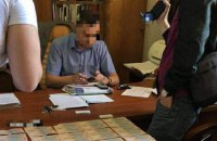 Kharkiv railway station manager caught red-handed