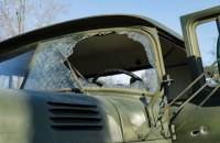 Separatists hit Ukrainian military vehicle with anti-tank missile