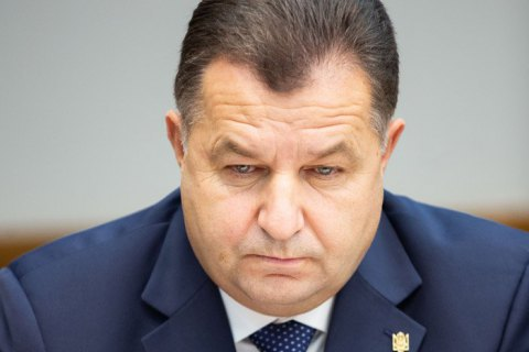 Poltorak: NATO insists on Ukraine's fast-tracked entry