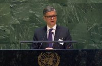 Prystayko in UN calls for deploying peacekeepers on Russian border