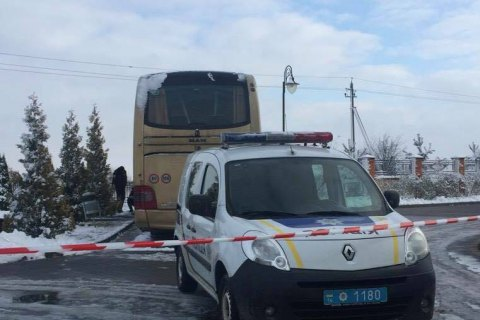Polish bus damaged by explosion near Lviv