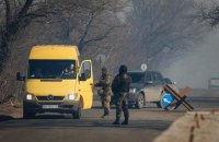 Militants shot woman at bus stop near Olenivka checkpoint