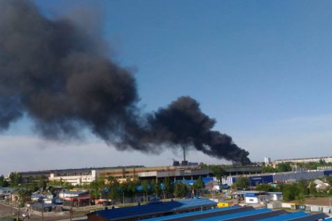 Ukraine's largest tyre maker catches fire
