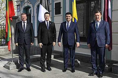 Lithuania, Latvia and Estonia will never recognize annexation of Crimea - PMs
