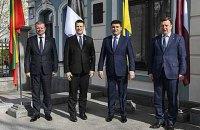 Lithuania, Latvia and Estonia will never recognize annexation of Crimea - PMs