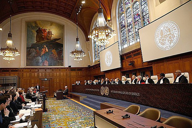 Public hearings in the case of Ukraine v. Russia at the International Court of Justice, The Hague, 6 March 2017