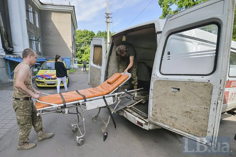 Four Ukrainian troops reported wounded in east