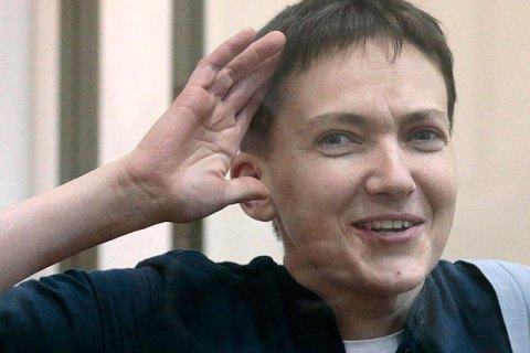 Savchenko makes empotional first speech on Ukrainian soil