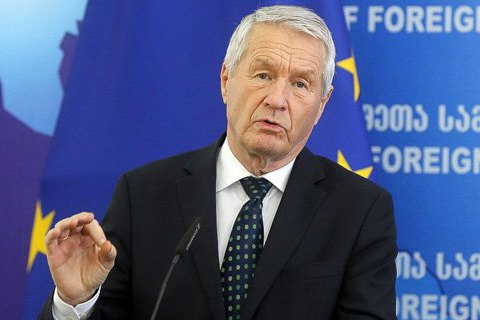 Ukraine's PACE delegation to snub Jagland's reception