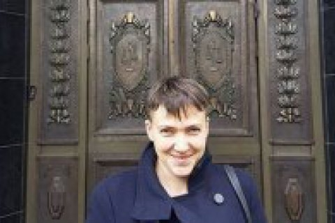 Savchenko goes to Moscow to attend Karpyuk, Klykh trial