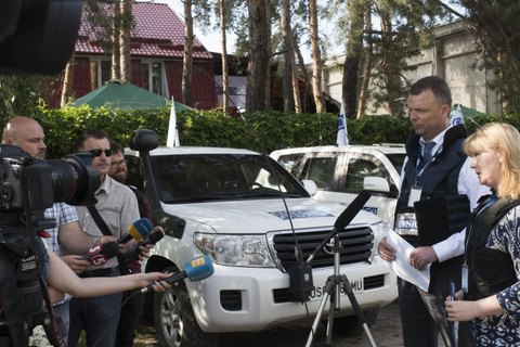 OSCE Special Monitoring Mission to Ukraine opens new forward patrol base