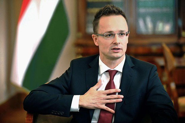 Hungarian Foreign Minister PéterSzijjártó