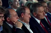 Medvedchuk takes front-row seat at Putin's Sochi forum