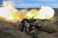One ATO trooper killed, five wounded in Donbas