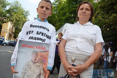 ​  Children of Ukrainian POW rally to speed up their release