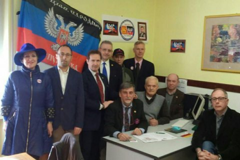 "Ukraine protests to Italy over separatists' ""representation"" in Verona"
