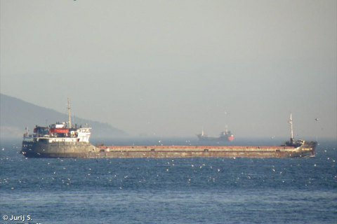 Cargo ship with Ukrainian crew sinks off Turkey's coast