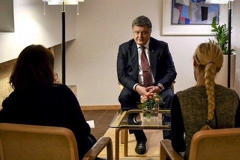 Poroshenko accuses Russia of attempts to split EU