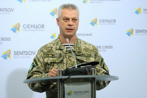 Three Ukrainian troops killed, four wounded in east