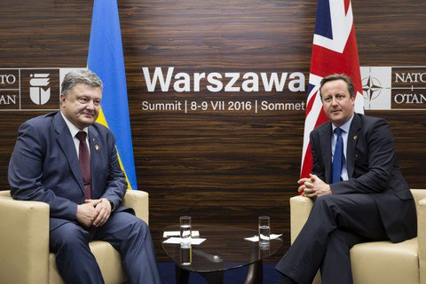 UK to continue support for Ukraine amid Brexit - PM