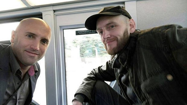 British nationals Graham Phillips and Benjamin Stimson in Donbas