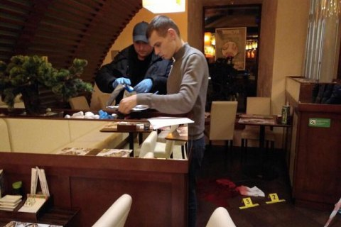Shootout in Kyiv sushi café, casualties reported