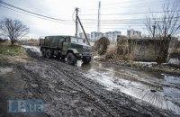 Ukrainian serviceman killed as militants hit army lorry