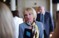 MP Iryna Lutsenko gives up MP seat