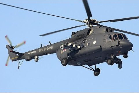 Russian helicopter violates Ukraine's airspace in Kherson Region