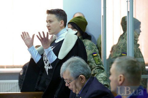 MP Savchenko appeals detention