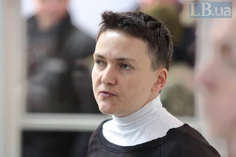 MP Savchenko placed in custody for two months