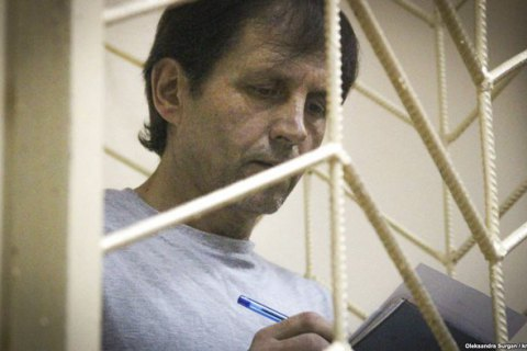 Balukh suspends hunger strike during transfer to Russia