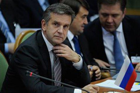 Russian envoy to Ukraine Zurabov sacked (updated)