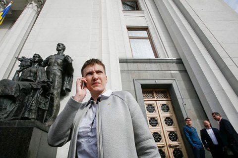 Savchenko wants to join talks on release of prisoners