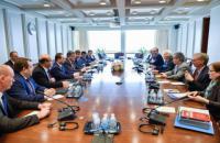 Poroshenko met with IMF director, World Bank head