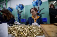 Vinnytsya plant launches pistol cartridge production