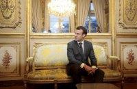 Macron to receive Poroshenko, Zelenskyy on 12 April