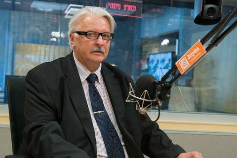 Polish FM notes deterioration in Ukraine-Poland relations
